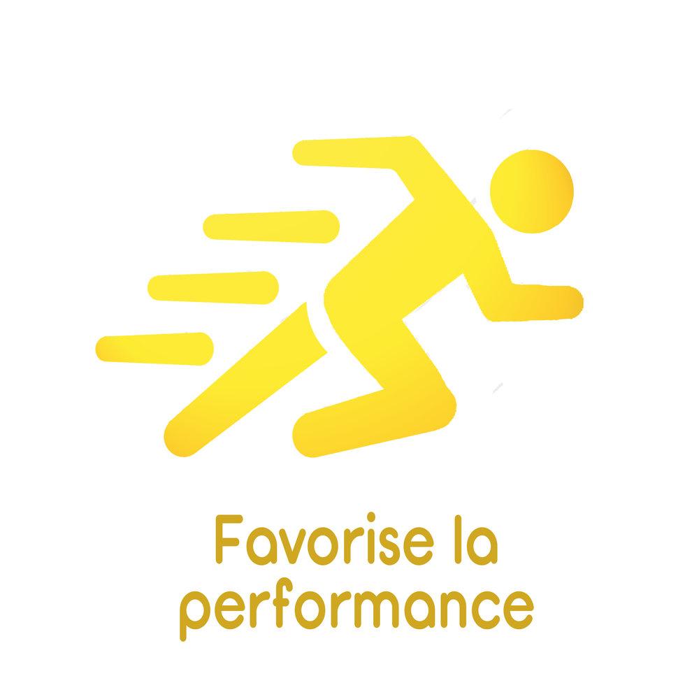 Favorise la performance
