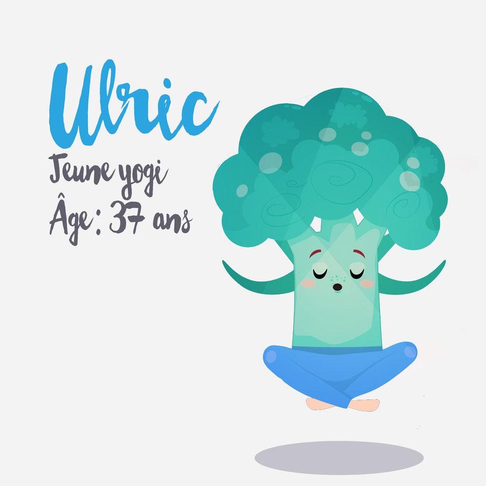 Ulric Ulric a prit le virage vert! Ancien carnivore bodybuilder,il est maintenant adepte de yoga en plus d'être végétalien!! Il ne cherche pas à avoir le corps découpéau couteau!! D'ailleurs les couteaux lui font extrêmement peur! Il veut simplement avoir de l'énergie pour faire ce qui lui plait et vise l'équilibre dans sa vie!