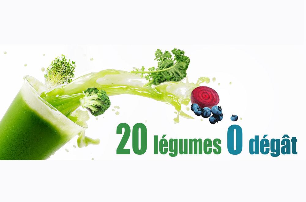 20 légumes 0 dégat