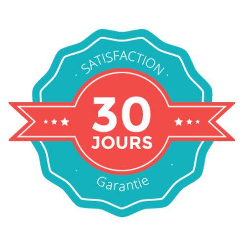 SATISFACTION 30 JOURS