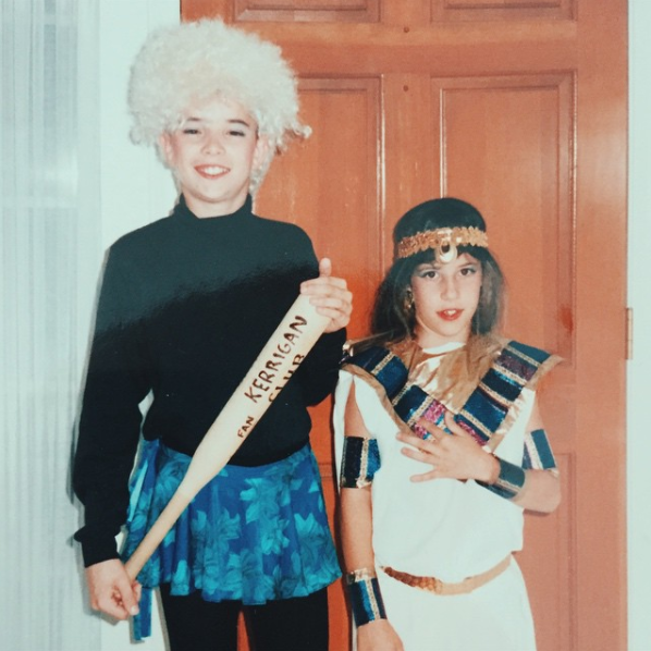 Old school bonus: Tonya Harding in 5th grade