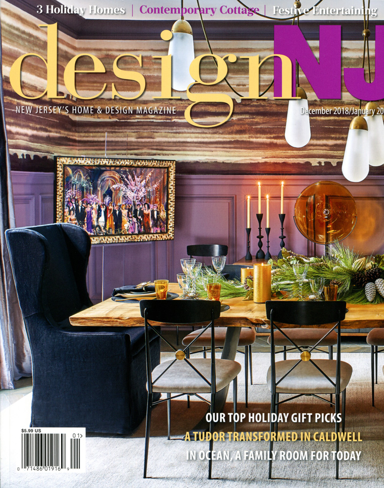 This tight, rich and colorful composition was found by the editors at Design NJ.