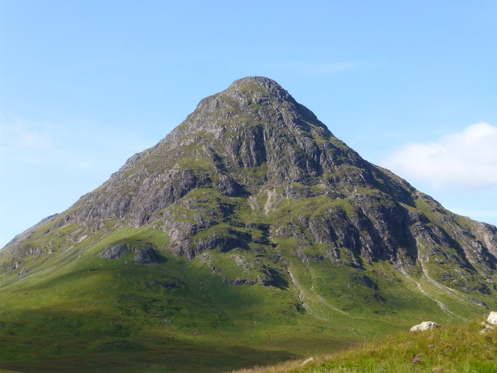 View along Glencoe Pass