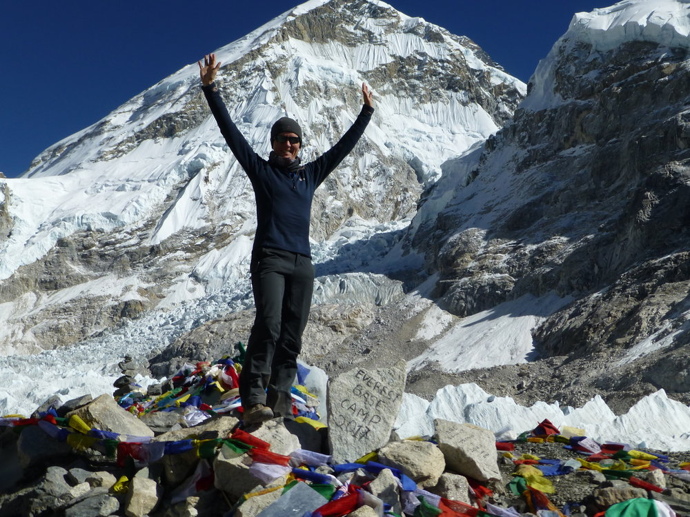 Me at Everest Base Camp