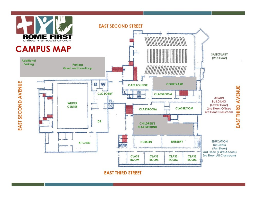 Campus Map Rome First
