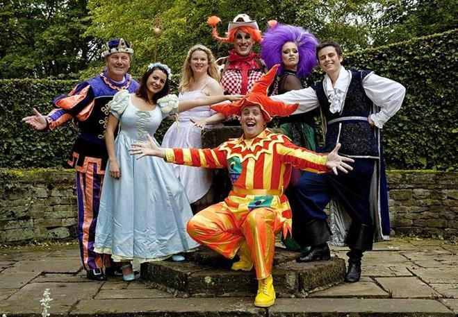 The cast of Sleeping Beauty, Victoria Theatre, Halifax