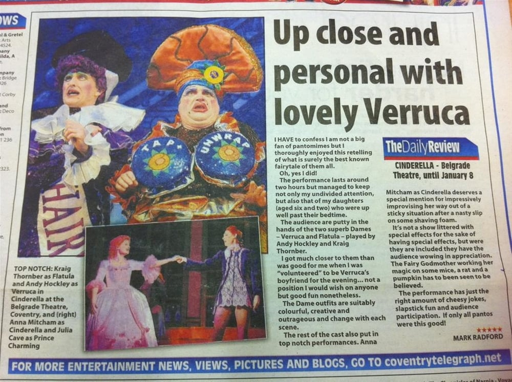 Coventry Evening Telegraph review