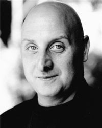 Mark Lyminster plays Widow Twankey