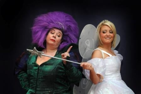 Brenda and Louise as the Fairies