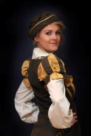 Laura McMonagle from River Cirty plays Prince Valiant