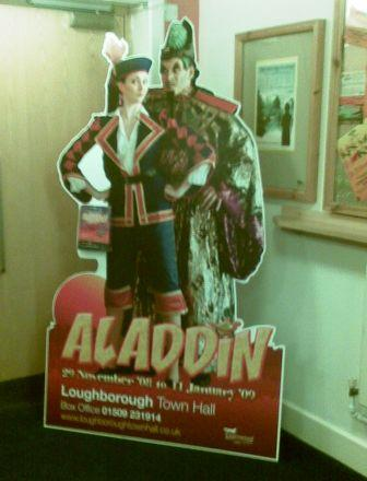 Standee in the Theatre foyer