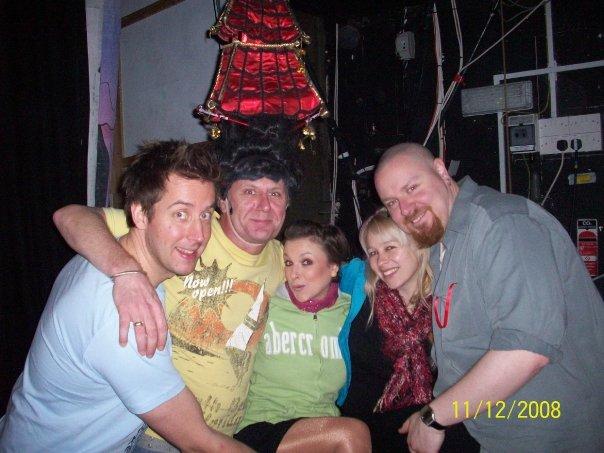 Chris C, Tony, Robyn, Jess & Vern