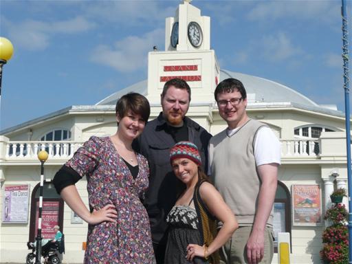 Suzi (ASM), Vern, Robyn & Steve Boden (Director)