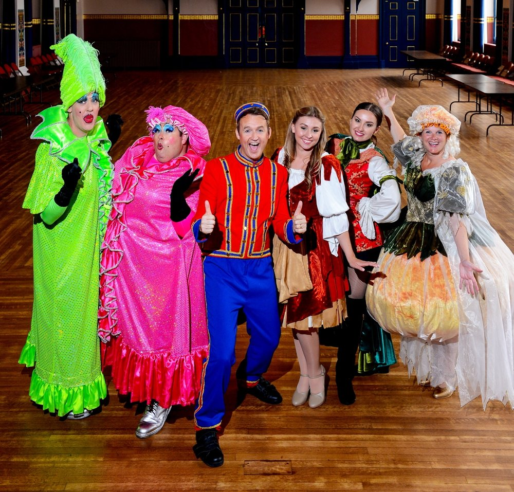 The launch of the Grimsby Auditorium Panto of Cinderella, at Grimsby Town Hall.