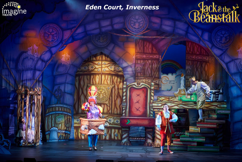 Jack and The Beanstalk, Eden Court Theatre, 2018