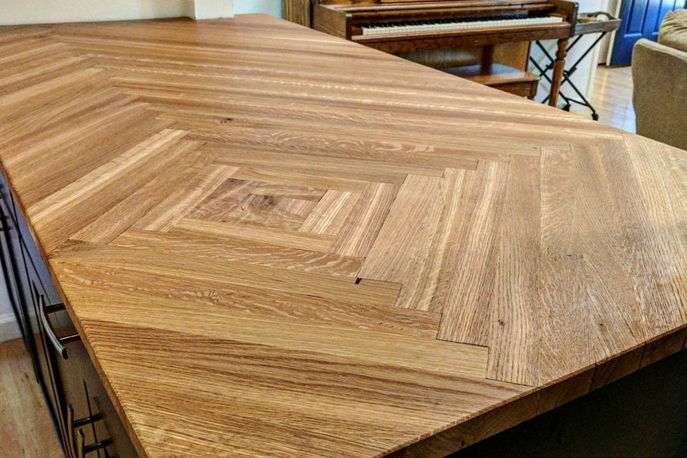 custom furniture - countertops, tables, cabinets, etc. built in our South City shop