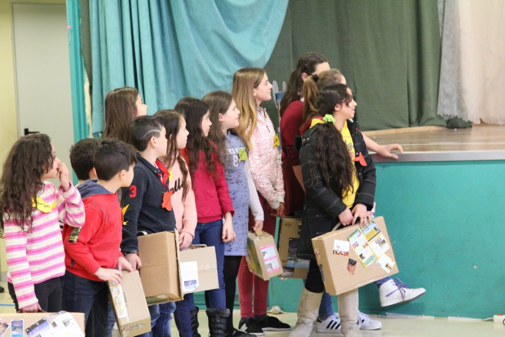 Open Schools programming: theater for children