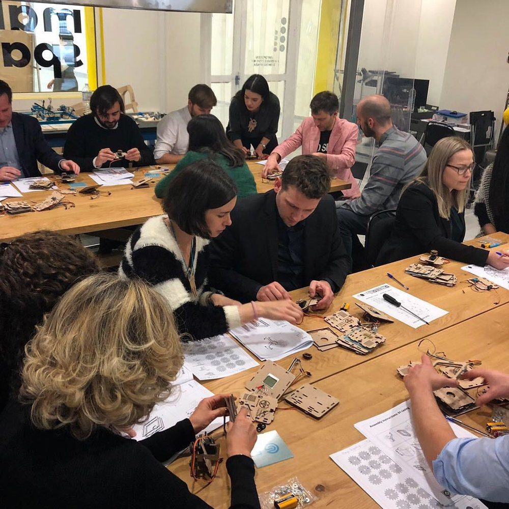 CDOs at the Maker Space