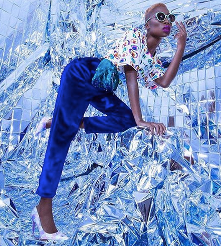 Another editorial masterpiece by  Jora Frantzis  featuring our designers  CUKOVY (top),  ZIZTAR  (pants) and  ADSR (eyewear) and a fanny pack by our designer  Project Runway 's runner up  Kelly Dempsey !   Fashion Provided By  #IvanBittonStyleHouse