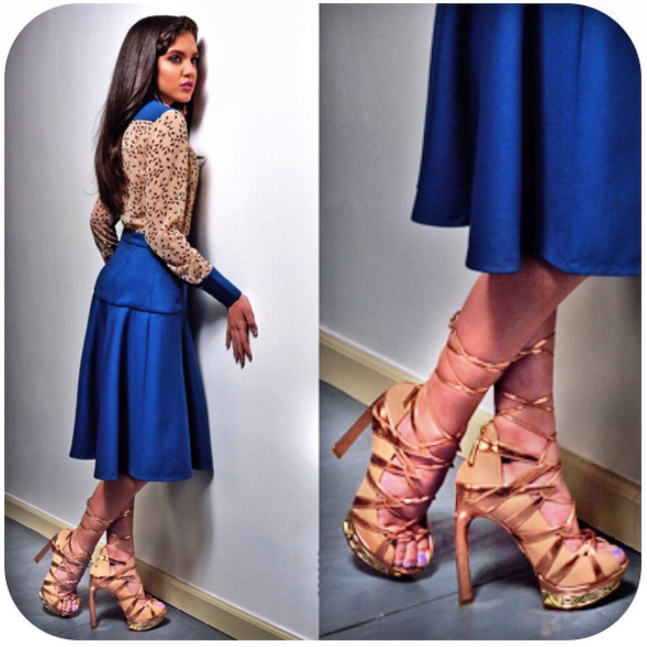 Lilimar   is our Favorite   Nickelodeon   star!! she is looking gorgeous as ever in this pair of shoes by our American Designer   Femmes Sans Peur   for   Regard Magazine   styled by   AmbiKa Sanjana  .   Fashion Provided By   #IvanBittonStyleHouse