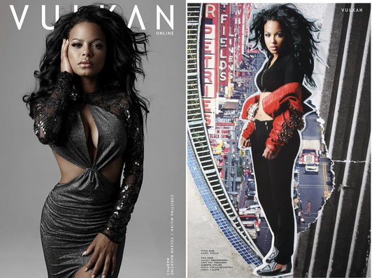 COVER ALERT!  The GRAMMYs  nominated American star  Christina Milian  who is also the star from the  E! Entertainment  network is gracing a pair of our designer  ialave  shoes and a jacket by designer  Odaingerous  for this cover story from  Vulkan Magazine . Styled by the amazing  Michael Saint Michael   #TeamBitton   Fashion Provided By  #IvanBittonStyleHouse