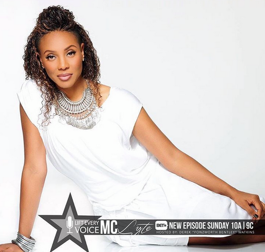 Congratulations to Hip Hop Icon  MC Lyte  for her show on  BET's Lift Every Voice (Official)  , looking fantastic while promoting the show wearing our designers  Taneesi Designer jewelry by Manjari Agochiya  and  Jardin Secret Madagascar 's bangles. Styled By  Jason Griffin .  Fashion Provided By  #IvanBittonStyleHouse