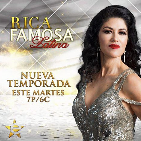 The Beautiful   Luzelba Lozano   , star of the show   Rica Famosa Latina   promoting the upcoming new season 4, wearing our Beautiful German Designer   Anya Liesnik  . In house styling by   Veronica Baca   and   Azzy Marks   from   #TeamBitton   Fashion Provided By   #IvanBittonStyleHouse