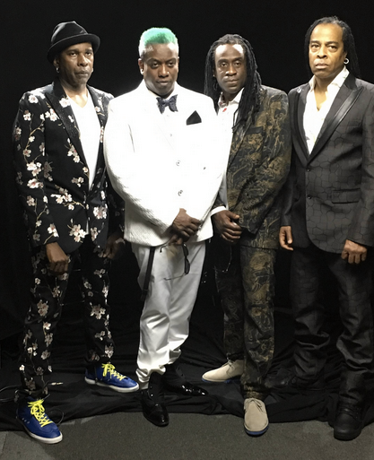 Fresh off the ePress of  Rolling Stone  magazine release of  Notorious B.I.G. 's 'who shot ya?' remix by  The GRAMMYs  winner band  Living Colour  featuring our amazing American designer  Barabas Men 's suit , our French bow tie designer  Maison F , our American sunglasses designer  CAZAL Eyewear - (Official)  , our Swiss eyewear designer  Marc Stone , our British Hat maker  Tom Smarte , our Swiss Shoe maker  RUBIROSA  and a shirt by our Italian designer  Orian Shirt . Styled By  #Team  Bitton  Leisa Balfour .  Fashion Provided By  #IvanBittonStyleHouse