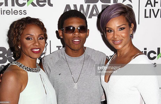 FOX 's star  Yazz The Greatest  from #1 hit show  Empire  looking all glammed up next to queen of Hip Hop  MC Lyte  in a Pair of our American Iconing designer  CAZAL Eyewear - (Official)  on a  BET  red carpet event. Styled By  Jason Griffin .  Fashion Provided By  #IvanBittonStyleHouse