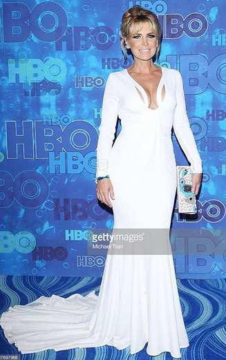 Carpet Perfection for The beautiful Argentinian Reality TV star   Sandra Vidal   at the   Emmys / Television Academy   Awards   HBO   party wearing a gorgeous gown from our German designer   Marcell von Berlin   , a clutch from our Italian master  Ottaviani   and beautiful bracelet and Earrings from our Californian designer   Sambac Jewelry  .   Styled by   #TeamBitton   @laray slay and   Cindy De La Cruz   Fashion Provided By   #IvanBittonStyleHouse