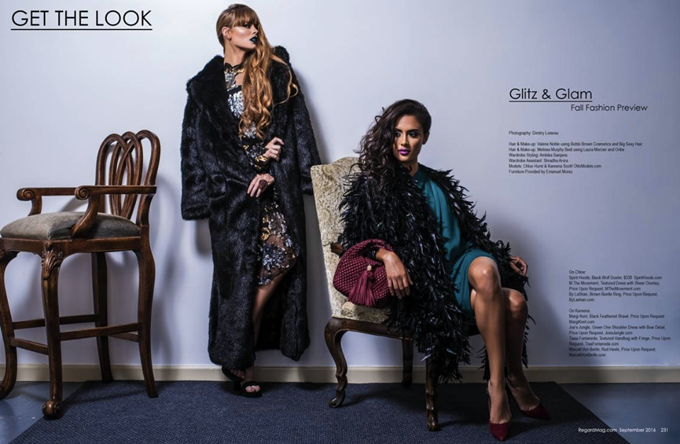 Get The Look!  Regard Magazine  is laying down the Fashion law featuring our Designer  Simplicio Michael Luis Herrera  and our Spanish handbag designer  Tissa Fontaneda  and our German designer  Marcell von Berlin . Styled By  AmbiKa Sanjana . Fashion Provided By  #IvanBittonStyleHouse