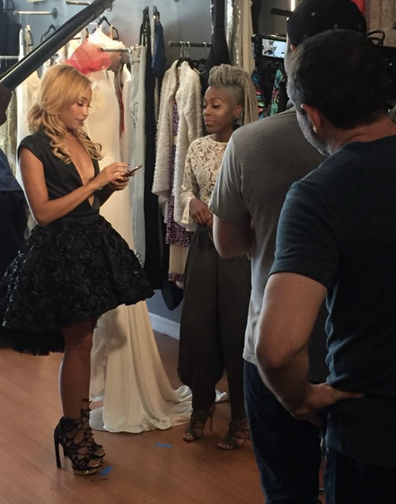 Behind The scenes Live from   #IvanBittonStyleHouse   Shooting For   MTV   an upcoming Television Reality show featuring our designers   Shanna Gall  ,  Marcell von Berlin  ,   Ottaviani  ,   Egidio Alves   and   Alexia Klein   . A speciall Thanks to Celebrity stylist   Beatrice Marshall