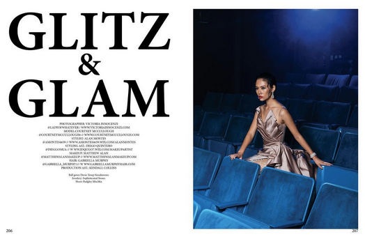 Xiox Magazine 's latest editorial featuring a gown by our Designer  Lotuz Jakarta . Styled By  Behind The Rack: Alan Montes .  Fashion Provided By  #IvanBittonStyleHouse