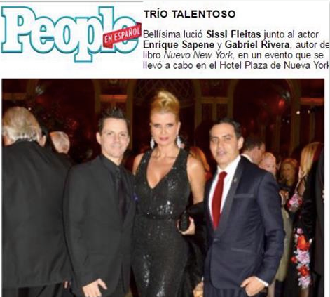 Congratulations to The Gorgeous Cuban actress  SISSI Fleitas  for being Honored at  People en Español 's 'New New York'!! Dressed for the occasion in a Jumpsuit by Our Fabulous German Designer  Anya Liesnik . Styled By  #TeamBitton   Aaron Gomez  and  Veronica Baca .   Fashion Provided By  #IvanBittonStyleHouse