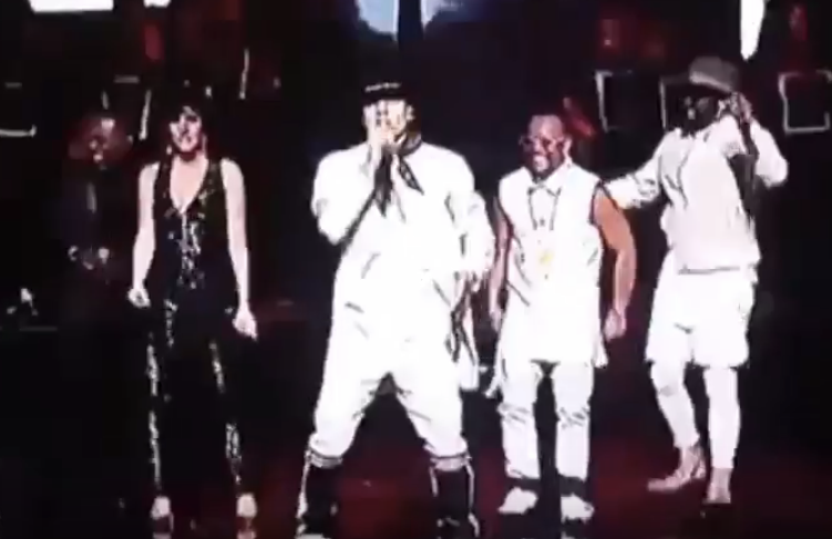 Black Eyed Peas  live on stage at the  Premios de La Radio  in Duo with Mexican Singing Star  Ana Victoria  wearing a Magnificiant jumpsuit by our German designer  Anya Liesnik . Styled By  #TeamBitton   Horacio Aguilar  and  Veronica Baca .  Fashion Provided By  #IvanBittonStyleHouse      WATCH HERE :  https://www.youtube.com/watch?v=vTWq4fv4_aA