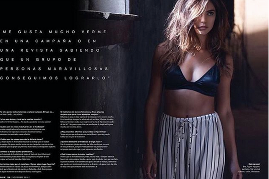 Maxim  magazine ALERT! the gorgeous supermodel  Kyra Santoro  in a cover story for  Maxim México  featuring our designer from Turkey  NU . Styled by  Roman Sipé .  Fashion Provided by  #IvanBittonStyleHouse
