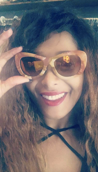 Spotted!   VH1   star   Althea Heart   from   Love and Hip Hop   loving a pair of our Italian designer   Morà Eyewear   made out of Marble!   Styled by @freshprinceola   Fashion Provided by   #IvanBittonStyleHouse
