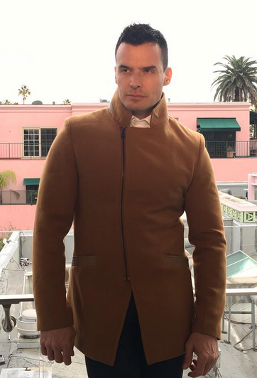 SPOTTED!  ABC Television Network 's Hunky star  Antonio Sabato Jr  wearing a jacket from our American designer  Barabas Men  Styled by  #TeamBitton  @Horacio Aguilar.@ Fashion Provided by  #IvanBittonStyleHouse