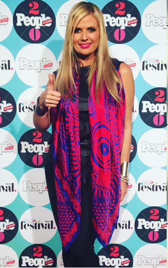 Spotted in Miami! The Beautiful Cuban Actress  Sissi Fleitas  from hit show  Rica Famosa Latina  wearing a scarf from our designer  Sigal Cohen  at the  People en Español 's celebration this week end! 2017 Styled by  #TeamBitton   Aaron Gomez . Fashion Provided by  #IvanBittonStyleHouse