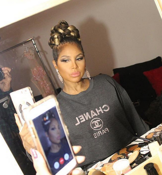 BREAKING NEWS! American Superstar  Toni Braxton  getting ready for a press shoot featuring our American designer  Sambac Jewelry . Styled by @Ashley Sean Thomas. Fashion Provided by  #IvanBittonStyleHouse
