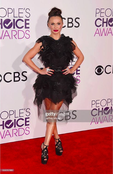 Tv star & dancerfr  @abcnetwork  @dancingabc  @karina_smirnoff looks spectacular at  @peoplechoiceawards2017 red carpet wearing our designers ✨ #jewelry made by our American designer  @sambac_jewelry fashion provided by  #ivanbittonstylehouse styled by celebrity stylist  @freshprinceola assisted by  #teambitton  @vstruck ❤️⭐️️👑 #whatsheiswearing  #pr  #abc  #e  #press  #designer  #fashion  #sales  #stylehouse  #showrrom  #karina  #smirnoff  #getty  #styling  #oot  #hollywood