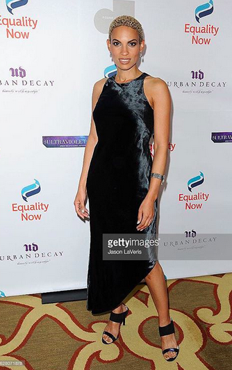 Recording Academy / GRAMMYs  winner  Goapele  looking so chic at the  Equality Now  red carpet in Hollywood wearing a pair of shoes by our Japanese designer  Limit till 2359 . styled by  Jesse J Collections . Fashion Provided By  #IvanBittonStyleHouse