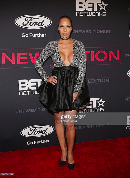 @bet American actress  @thejenmorillo looks fierce at the  @neweditionbet  #movie red carpet wearing our Designers ✨ #dress made by our Designer from Barbados 🇧🇧 @sgshannagall  #choker made by our American 🇺🇸designer  @wwweverstudio  #ring made by our Designer from Italy 🇮🇹 @miasitaly fashion & style provided by  #ivanbittonstylehouse  #whatsheiswearing  #pr  #redcarpet  #neweditionmovie  #oot  #styling  #jewelry  #bee  #hot  #showroom  #join  #sales  #styling  #hollywood  #jen  #bet  #movie  #bittonstylehouse  #ok  #getty
