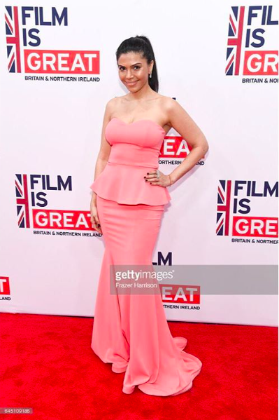 @iamsheilashah  wearing our designers ✨ #dress  made by our American 🇺🇸 designer  @nicolebakti   #jewelry  made by our American 🇺🇸designer  @sambacjewelry  fashion provided by  #ivanbittonstylehouse  #pr  #whatsheiswearing  #actress  #jewlery  #filmisgreat  #oscars  #awards  #redcarpet  #movie  #glam  #oot  #bittonstylehouse  #getty  #hollywoodtrend  #springfashion