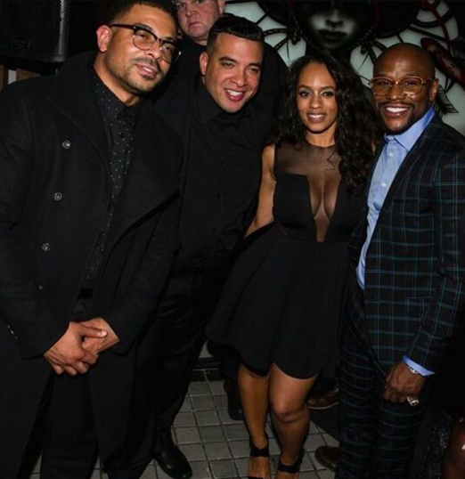 Spotted 📸  @bravotv &  @vh1  super star  @themelyssaford celebrating  @floydmayweather   #bday  #hollywood  with mega radio personality  @theonlyjasonlee   @therealtank  wearing our designers ✨ #dress  made by our designer from Germany 🇩🇪  @marcellvonberlin   #jewelry  made by our American 🇺🇸designer  @sambacjewelry fashion provided by  #ivanbittonstylehouse styled by  #teambitton   @aarongomezp  #whatsheiswearing  #bittonstylehouse  #boxing  #celebrity  #fame  #tmz  #redcarpet  #ootd  #celebritystylist  #showrrom  #designer  #join  #blogger  #stylehouse