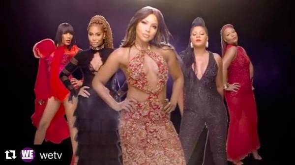 Don't miss out the premiere of the  @wetv  tv show  #braxtonfamilyvalues  starring  @recordingacademy  winner  @tonibraxton wearing our designers ✨ #gown  made by our designers from Bangladesh 🇧🇩  @zoanash  fashion provided by  #ivanbittonstylehouse  styled by celebrity stylist  @ashleyseanthomas  ⭐️👑  #whatsheiswearing  #braxton  #celebritystyle  #ootd  #bittonstyle  #famous  #wetv  #showroom  #designer  #join  #hollywoodtrend  #hollywood  #tonibraxton  #singer  #grammy