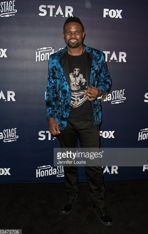 FOX  star  Darius McCrary  spotted out and about in Hollywood wearing a jacket and pants by our American designer  Barabas Men . Styled by  #TeamBitton   Leisa Balfour . Fashion Provided By  #IvanBittonStyleHouse