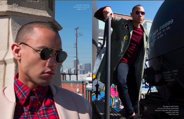 City dopness 👌🏼fashion editorial Done  @tinseltokyo featuring our designers ✨ #glasses  made by our designer from Japan 🇯🇵  @a.d.s.r._official  fashion provided by  #ivanbittonstylehouse  styled by  @styledbylmc  #whatsheiswearing  #celebrities  #magaZine  #bittonstylehouse  #hollywoodtrend  #mens  #showrrom  #join  #designers