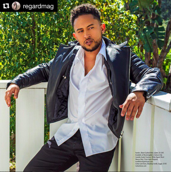 We got this! Amazing editorial starring  @tahj_mowry from  @babydaddytv   #RegardingTahj wearing our designers ✨ #shirt  made by  @barabas_men   Photo:  @dimitryl   Grooming:  @hmubymelbe   Styling:  @tgatiffanystylist  fashion provided by  #ivanbittonstylehouse  #whatheiswearing