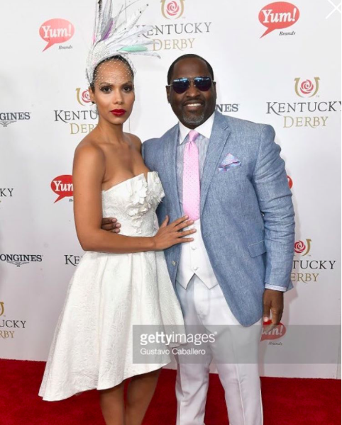 @vh1  star from hit show  @Hollywoodsquares   @thejenmorillo is looking beyond marvelous at the prestigious  @kentuckyderby  with American singing sensation  @realjohnnygill22  while wearing a dress from our Canadian designer  @_narces and a hat from our Russian designer  @ivaksenevich  Styled by  #teambitton  @aarongomezp  Fashion Provided by  #ivanbittonstylehouse